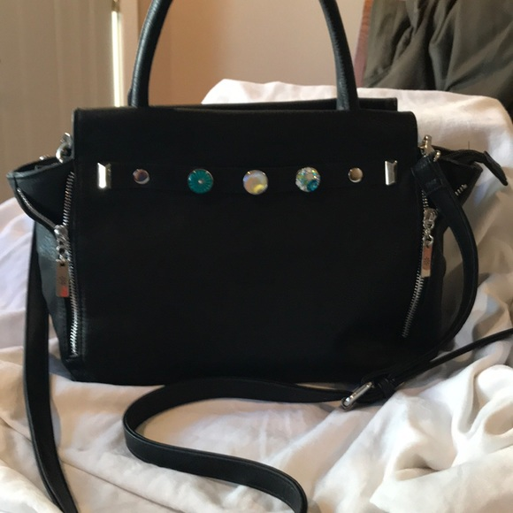 Ginger Snaps Handbags - Ginger Snaps Audrey Zip Satchel with jewelry